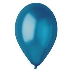 Baloane latex sidefate 30 cm, Albastru 54, Gemar GM110.54, set 100 buc