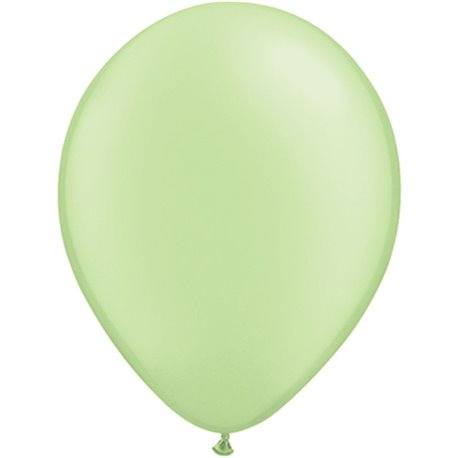Balon Latex Neon Green 11 inch (28 cm), Qualatex 74572, set 100 buc