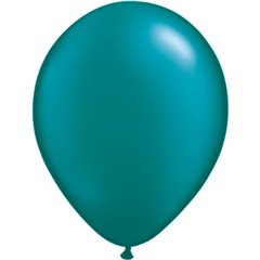 Pearl Teal Latex Balloon, 5 inch (13 cm), Qualatex 43596, Pack of 100 pieces