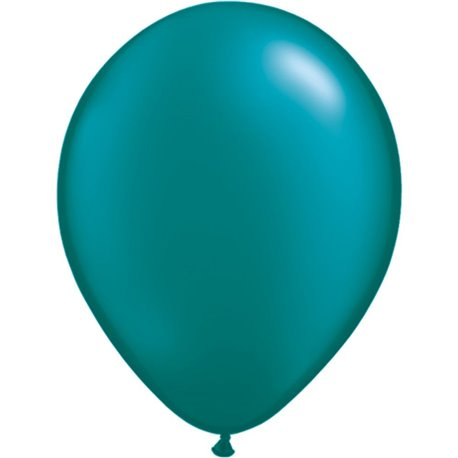 Balon Latex Pearl Teal 11 inch (28 cm), Qualatex 43787, set 100 buc
