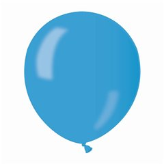 Blue 36 Metallic Latex Balloons , 5 inch (13 cm), Gemar AM50.36, Pack Of 100 pieces