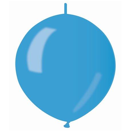 Baloane latex Cony sidefate 33 cm, Albastru 36, Gemar GLM13.36, set 100 buc