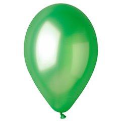 Green 37 Metallic Latex Balloons , 10 inch (26 cm), Gemar GM90.37