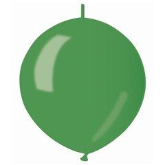 Baloane latex Cony sidefate 33 cm, Verde 37, Gemar GLM13.37