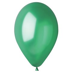 Baloane latex sidefate 33 cm, Verde 55, Gemar GM120.55, set 100 buc