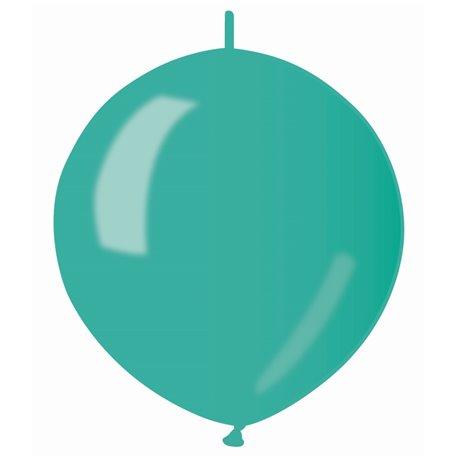 Baloane latex Cony sidefate 33 cm, Verde 55, Gemar GLM13.55, set 100 buc