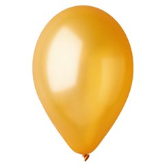 Gold 39 Metallic Latex Balloons , 10 inch (26 cm), Gemar GM90.39, Pack Of 100 pieces