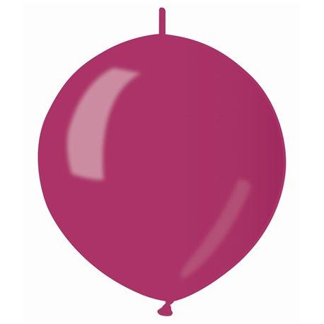 Baloane latex Cony sidefate 33 cm, Burgundy 52, Gemar GLM13.52, set 100 buc