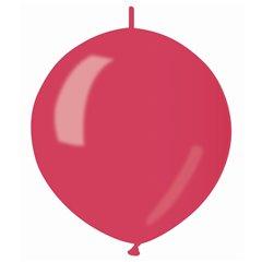 Baloane latex Cony sidefate 33 cm, Rosu 53, Gemar GLM13.53