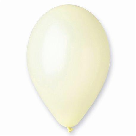 Baloane latex sidefate 33 cm, Crem 58, Gemar GM120.58, set 100 buc