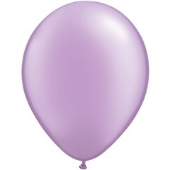 Pearl Lavender Latex Balloon, 5 inch (13 cm), Qualatex 43587, Pack of 100 pieces