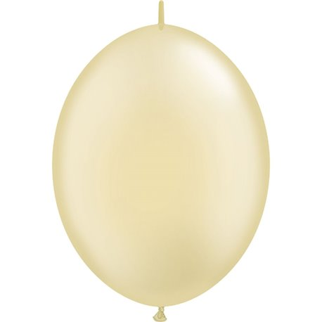 Balon Cony Pearl Ivory 12 inch (30 cm), Qualatex 65330, set 50 buc