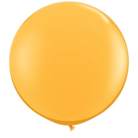 Baloane latex Jumbo 3' Goldenrod, Qualatex 43633, set 2 buc