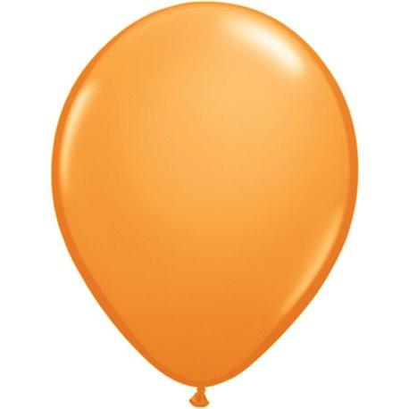 Balon Latex Orange, 16 inch (41 cm), Qualatex 43878, set 50 buc