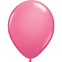 Rose Latex Balloon, 11 inch (28 cm), Qualatex 43791, Pack of 100 pieces