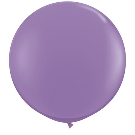 Baloane latex Jumbo 3' Spring Lilac, Qualatex 43656, set 2 buc
