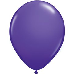 Purple Violet, Latex Balloon, 11 inch (28 cm), Qualatex 82699, Pack of 100 pieces