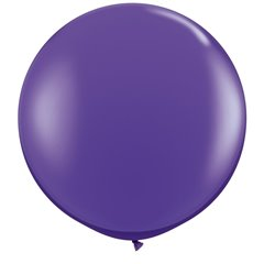 Baloane latex Jumbo 3' Purple Violet, Qualatex 82785, 1 buc