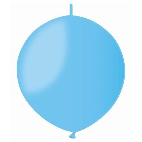 Baloane latex Cony 33 cm, Albastru Deschis 09, Gemar GL13.09, set 100 buc