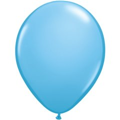 Pale Blue Latex Balloon, 16 inch (41 cm), Qualatex 43879, Pack of 50 pieces
