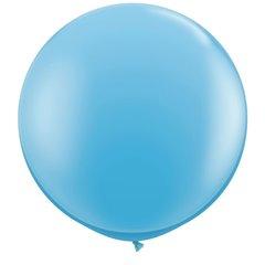 3' Jumbo Latex Balloons, Pale Blue, Qualatex 42773