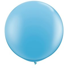 Baloane latex Jumbo 3' Pale Blue, Qualatex 42773, set 2 buc
