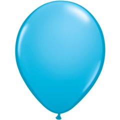 Robin Egg Blue Latex Balloon, 5 inch (13 cm), Qualatex 82683, Pack of 100 pieces