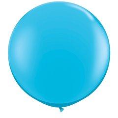 Baloane latex Jumbo 3 ft Robin's Egg Blue, Qualatex 82784, 1 buc