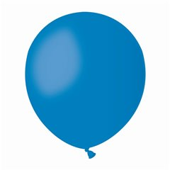 Blue 10 Latex Balloons , 5 inch (13 cm), Gemar A50.10, Pack Of 100 pieces