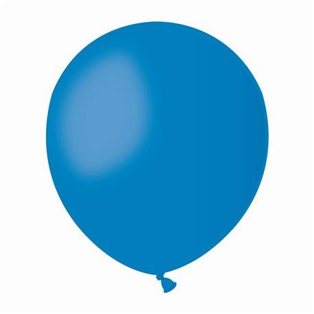 Baloane Latex 13 cm, Albastru 10, Gemar A50.10, set 100 buc
