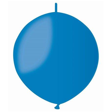 Baloane latex Cony 33 cm, Albastru 10, Gemar GL13.10, set 100 buc