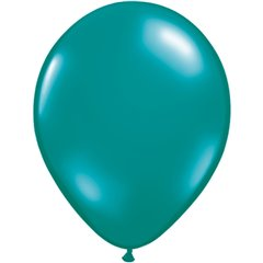 Jewel Teal Latex Balloon, 16 inch (41 cm), Qualatex 43872