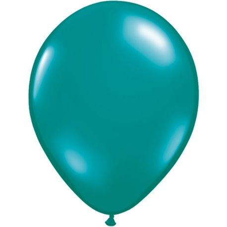 Balon Latex Jewel Teal, 16 inch (41 cm), Qualatex 43872, set 50 buc