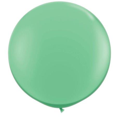 Baloane latex Jumbo 3' Wintergreen, Qualatex 43513, set 2 buc