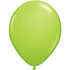 Balon Latex Lime Green, 16 inch (41 cm), Qualatex 73145, set 50 buc