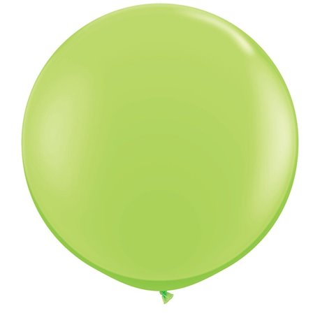 Baloane latex Jumbo 3' Lime Green, Qualatex 43660, set 2 buc