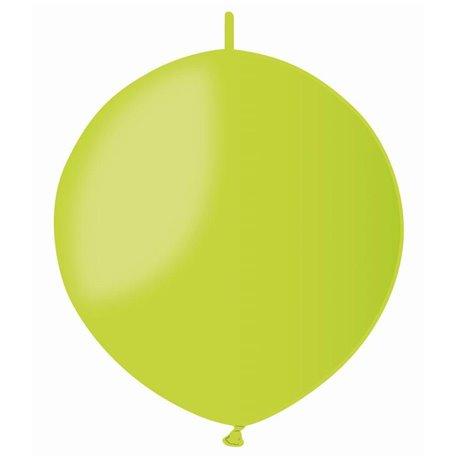 Baloane latex Cony 33 cm, Verde Deschis 11, Gemar GL13.11, set 100 buc