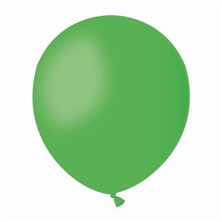 Baloane Latex 13 cm, Verde 12, Gemar A50.12, set 100 buc