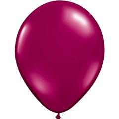 Sparkling Burgundy Latex Balloon, 9 inch (23 cm), Qualatex 43677, Pack of 100 pieces