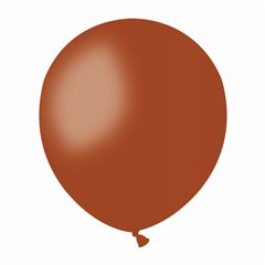 Brown 48 Latex Balloons , 5 inch (13 cm), Gemar A50.48, Pack Of 100 pieces