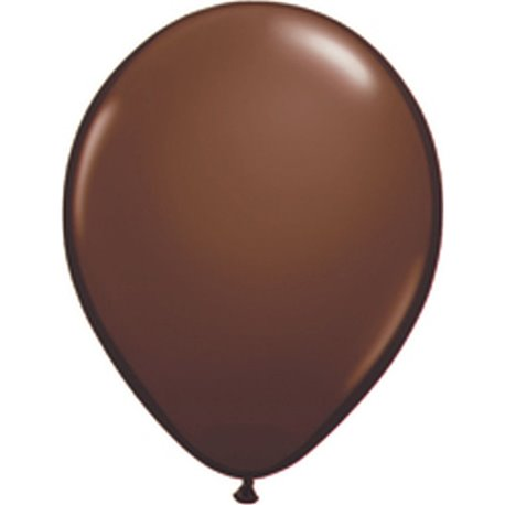 Balon Latex Chocolate Brown, 11 inch (28 cm), Qualatex 68778, set 100 buc