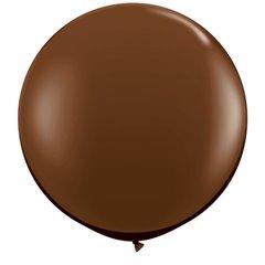 Baloane latex Jumbo 3' Chocolate Brown, Qualatex 83660, set 2 buc