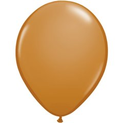 Balon Latex Mocha Brown, 5 inch (13 cm), Qualatex 99377, set 100 buc