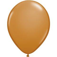 Mocha Brown, Latex Balloon, 11 inch (28 cm), Qualatex 99379