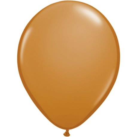 Balon Latex Mocha Brown, 16 inch (41 cm), Qualatex 99381, set 50 buc