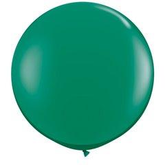 Baloane latex Jumbo 3 ft Emerald Green, Qualatex 43002, 1 buc