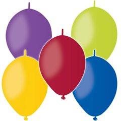 Assorted Cony Latex Balloons , 6 inch (16 cm), Gemar GL6.ASS