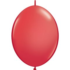 Balon Cony Red, 12 inch (30 cm), Qualatex 65213, set 50 buc