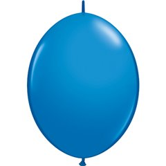 Balon Cony Dark Blue, 12 inch (30 cm), Qualatex 65215