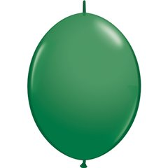 Balon Cony Green, 12 inch (30 cm), Qualatex 65224, set 50 buc